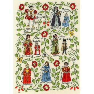 Henry VIII Cross Stitch Kit by Pete Smith