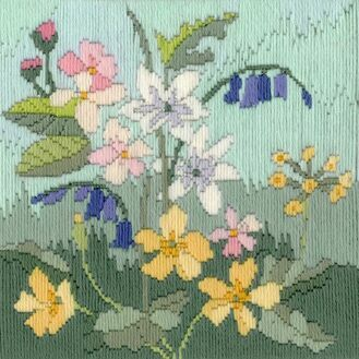 Spring Seasons Long Stitch Kit