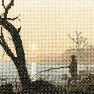 Gone Fishing Cross Stitch Kit