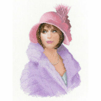 Harriet Portrait Cross Stitch Kit