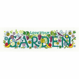 Love Your Garden Cross Stitch Kit