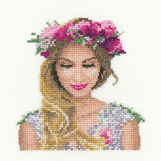 Emily Miniature Portrait Cross Stitch Kit