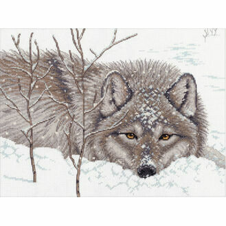 Snow Daze Cross Stitch Kit