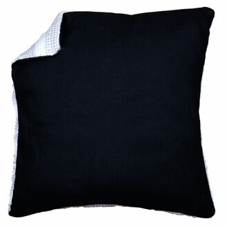 Cushion Back Black Without Zipper 45x45cm
