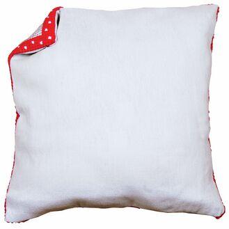 Cushion Back Grey Without Zipper 45x45cm