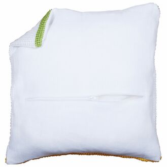 Cushion Back White With Zipper 45x45cm