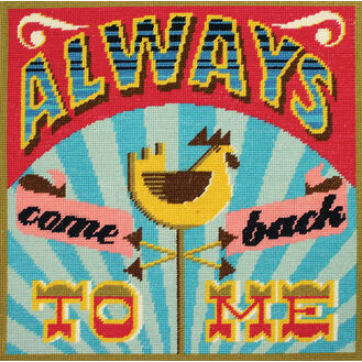 Always Come Back To Me Tapestry Cushion Panel Kit