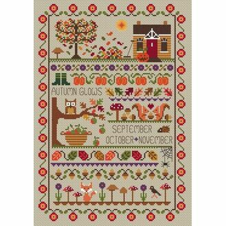 Autumn Glows Cross Stitch Kit