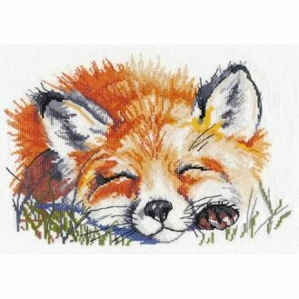 Red Fox Cross Stitch Kit