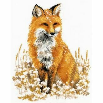 Little Fox Cross Stitch Kit