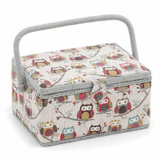 Hobby Gift Medium Sewing Box - Hoot Design