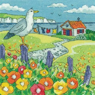 Poppy Shore Cross Stitch Kit