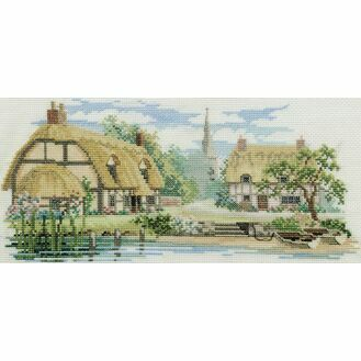 Waterside Lane Cross Stitch Kit