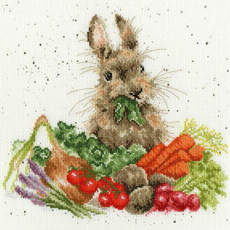 Grow Your Own Rabbit Cross Stitch Kit