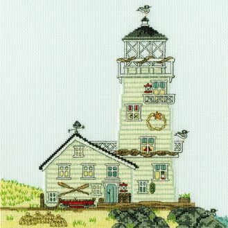 New England: The Lighthouse Cross Stitch Kit