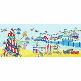 Pier Fun Cross Stitch Kit