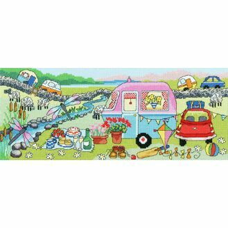 Caravan Fun Cross Stitch Kit