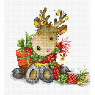 Reindeer Cross Stitch Kit