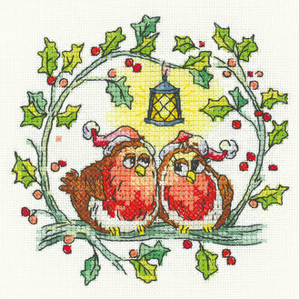 Christmas Robins Cross Stitch Kit