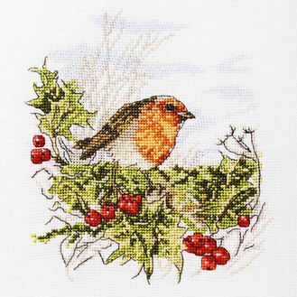 Mr Robin Cross Stitch Kit