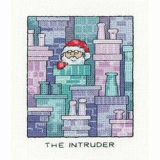Santa Claus 'The Intruder' Cross Stitch Kit