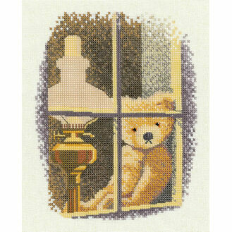 William In The Window Cross Stitch Kit