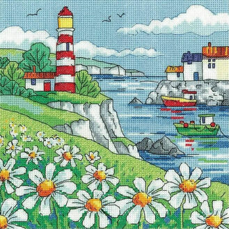 Daisy Shore Cross Stitch Kit