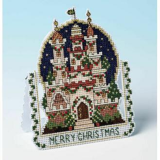 Christmas Dreams 3D Cross Stitch Card Kit