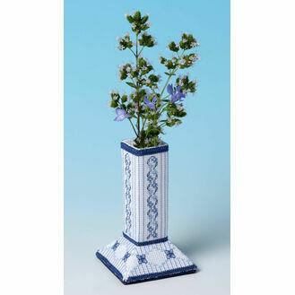 Lapis Lazuli Caddy 3D Cross Stitch Kit