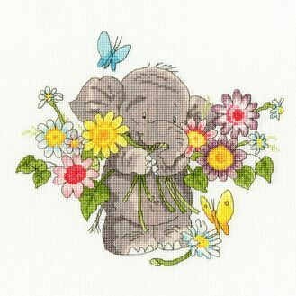 Jumbo Bouquet Elly Cross Stitch Kit