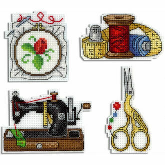 Needlework Magnets Cross Stitch Kit
