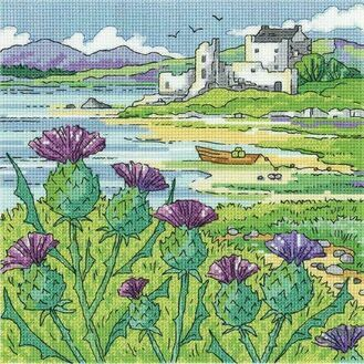 Thistle Shore Cross Stitch Kit