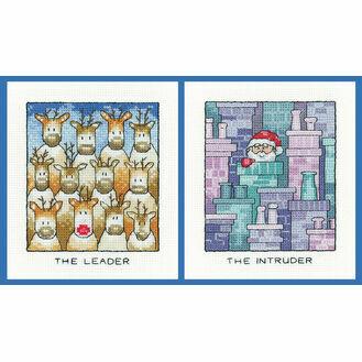 The Intruder & The Leader Set Of 2 Cross Stitch Kits