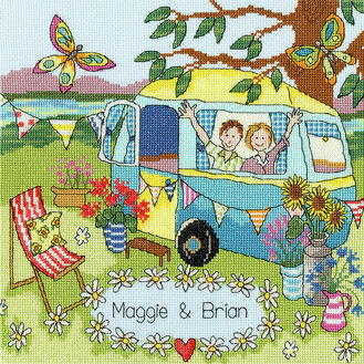Our Caravan Cross Stitch Kit