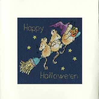 Starry Night Cross Stitch Card Kit