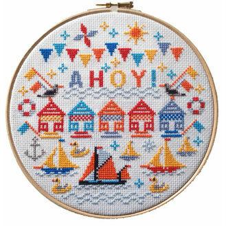 Ahoy! Hoop Cross Stitch Kit