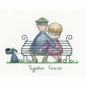 Together Forever Cross Stitch Kit