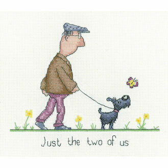 The Two Of Us Cross Stitch Kit