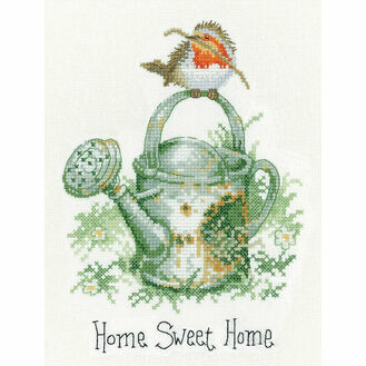 Home Sweet Home Robin Cross Stitch Kit