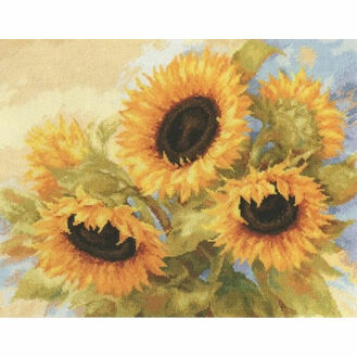 Sunflower Dreams Cross Stitch Kit