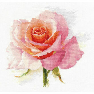 Rose Tenderness Cross Stitch Kit