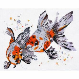 Goldfish Cross Stitch Kit