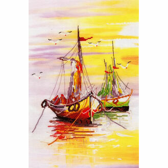 Native Harbour 1 Cross Stitch Kit
