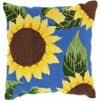 Sunflower Herb Pillow Tapestry Kit