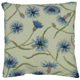 Cornflower Herb Pillow Tapestry Kit