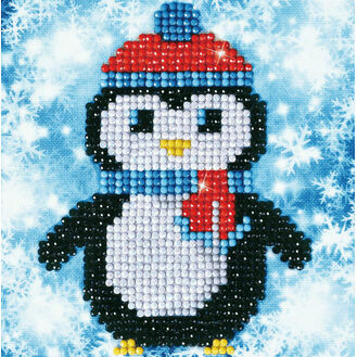 Christmas Penguin Diamond Dotz Kit