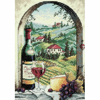 Dreaming Of Tuscany Cross Stitch Kit