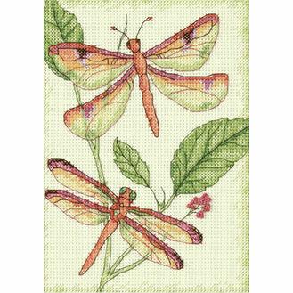 Dragonfly Duo Cross Stitch Kit