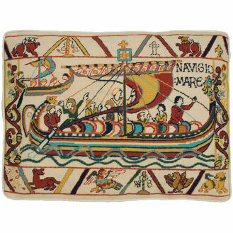 Invasion - The Crossing Cushion Panel Needlepoint Kit