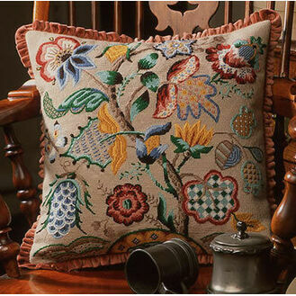 Audley End Cushion Panel Needlepoint Kit